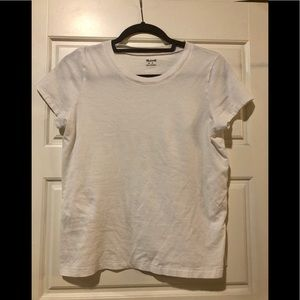 Madewell// white t shirt